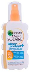 Ambre Solaire clear protect zonnebrand SPF 50 - 200 ml