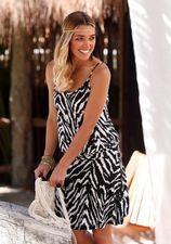 Strandjurk met zebra-look