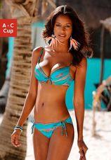 LASCANA Push-up-bikini met print (2-delig)