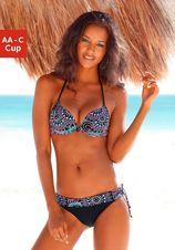 S.OLIVER Push-up-bikini in etnodessin (2-delig)