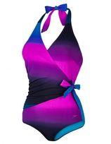 Speedo Sculpture Simplyglow Swimsuit Blauw/Zwart
