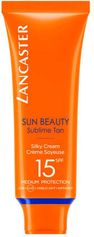 Lancaster Sun Beauty Face Silky Cream SPF15 - 50 ml