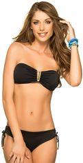 Bikini V-Bandeau Color-Mix Black