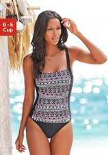 Trendy badpak in tankini-look