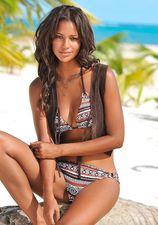 LASCANA bikinibroekje »Wintu« met goudkleurige sierringen