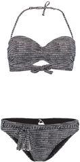 O'Neill Print Wire Bandeau Bikini Zwart Bikini's