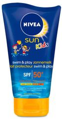 NIVEA SUN Kids Swim & Play Zonnemelk SPF50+ - 150 ml