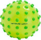 Nabaiji Kleine waterbal Funny Ball roze met paarse nopjes