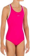 Nabaiji Meisjesbadpak Leony + voor zwemmen roze