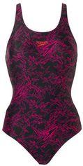 Speedo Endurance 10 sportbadpak Boom Allover zwart/rood