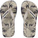 Amazonas zandkleurige kinderslippers Enjoy Foliage junior