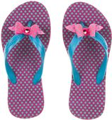 Amazonas pink/acqua kinderslippers Enjoy Poa girl