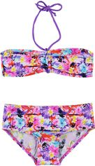 Boobs & Bloomers bandeau kinder bikini met Flamingo print