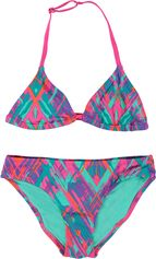 Chiemsee triangle meisjes bikini Luana J met meerkleurige print