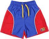 Beco rood / blauwe zwemshort kids met binnenbroekje
