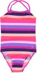 Color Kids gestreept meisjes badpak Tifli UV 40+