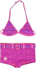 Zee & Zo triangle meisjes bikini Grace Bay Indian purple