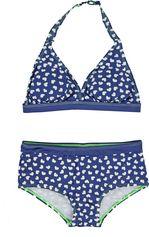 Boobs & Bloomers donkerblauwe halter meisje bikini Luna