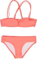 Brunotti koraal rode bandeau meisjes bikini Marina