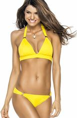 Bikini Halter Yellow