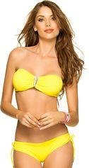 Yellow V-Bandeau Bikini