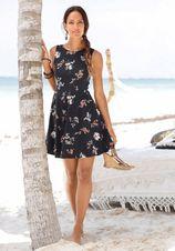 BEACHTIME strandjurk met bloemenprint