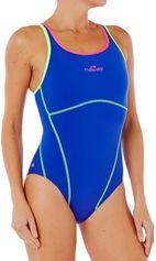 Nabaiji Sportbadpak voor zwemmen dames Kamiye+ blauw/groen