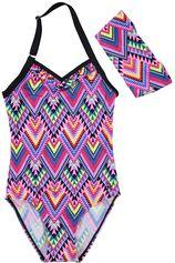 Color Kids paars meisjes badpak Tordis UV 40+