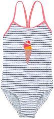 Color Kids wit meisjes badpak Nova UV 40+
