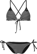 O'Neill Essentials Triangle Bikini Zwart Bikini's