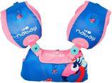 Nabaiji Modulaire zwemhulp Tiswim voor kinderen roze met flamingoprint