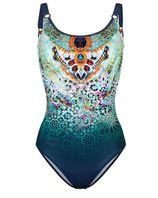 Badpak Sunflair nachtblauw/multicolor