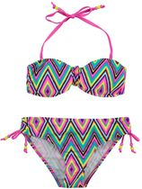 Boobs en Bloomers multi zigzag bikini Ella