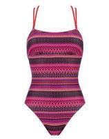 Sloggi Swim Indian Summer OP rood print
